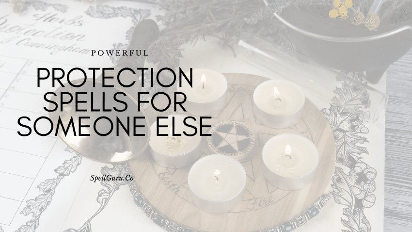 protection spell for someone else