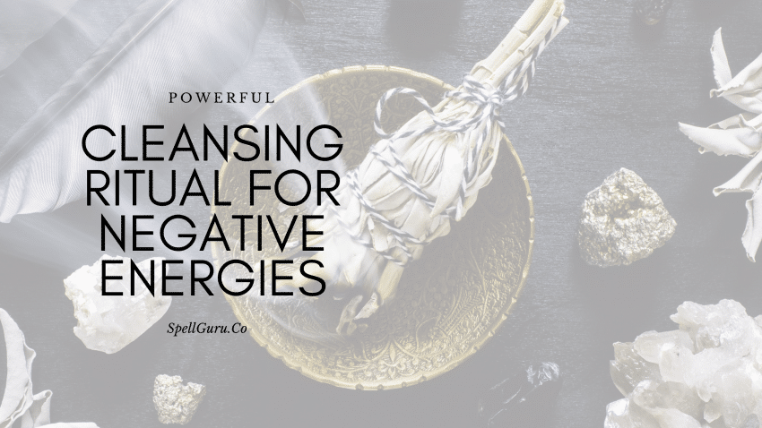 cleansing ritual for negative energy