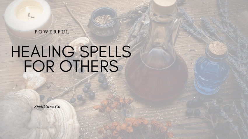 healing spells for others