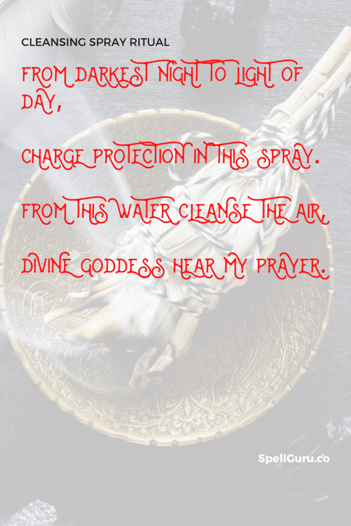Cleansing Spray Ritual