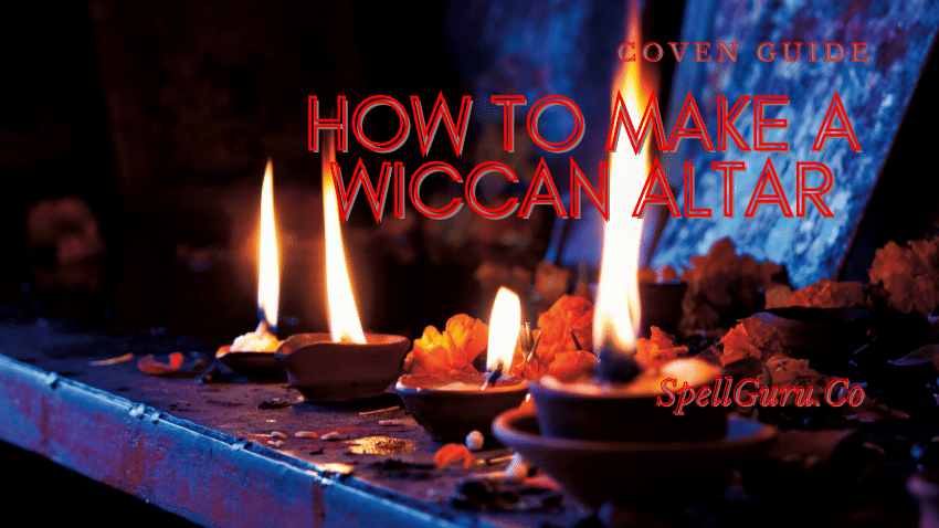 How to Make a Wiccan Altar