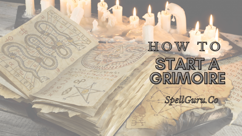 How to Start a Grimoire