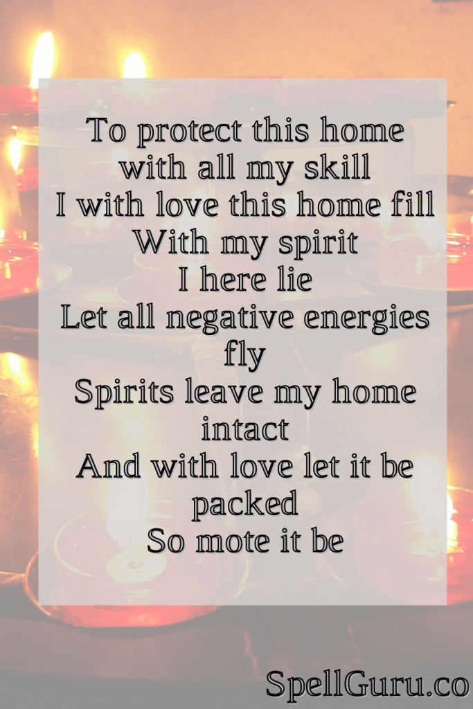 Spell for Home Protection