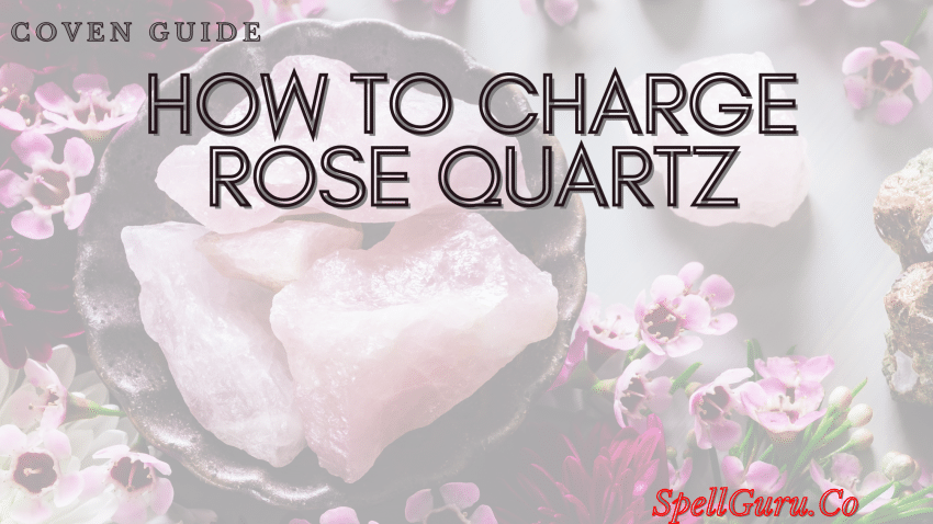 How To Charge Rose Quartz