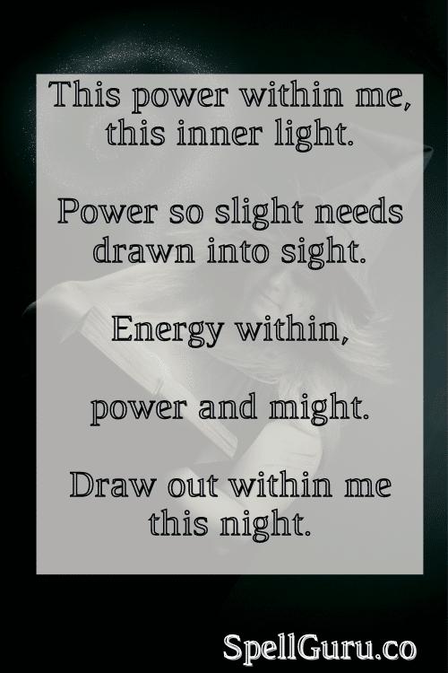 Power spell incantation